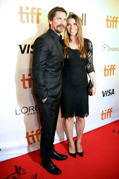 Christian Bale and Sibi Bale
