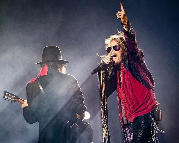 Steven Tyler suffered a seizure after an Aerosmith show in South America