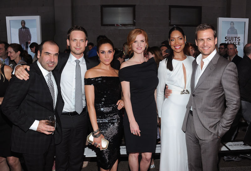 Meghan Markle and Patrick J. Adams are leaving Suits