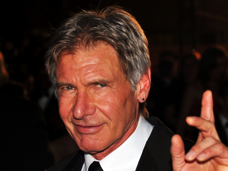 Harrison Ford rescues woman from vehicle crash