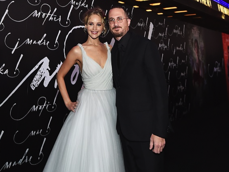 Jennifer Lawrence, Darren Aronofsky split
