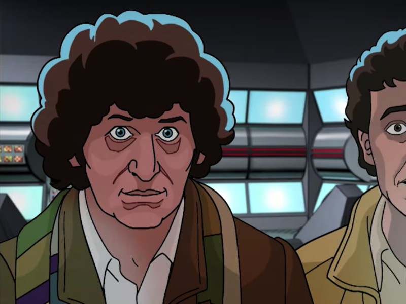 Tom Baker returns to Doctor Who for unfinished episode