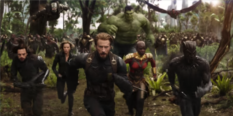 New Avengers: Infinity War Trailer Crushes Record And People Loved To Discuss Cap's Beard