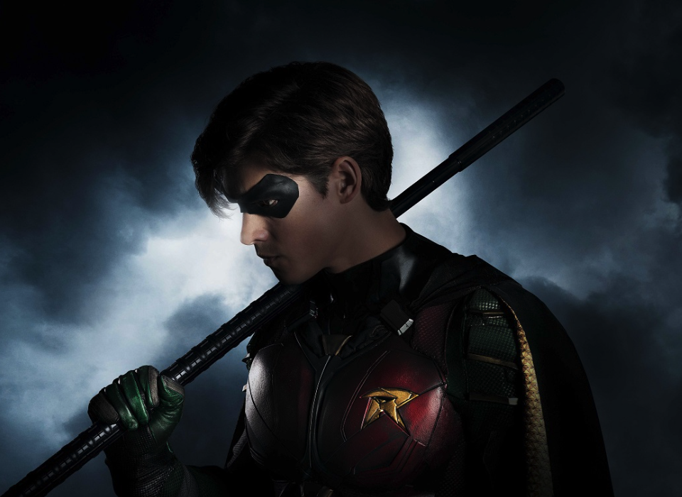 First look at Brenton Thwaites as Robin in Titans