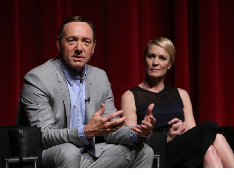 'House Of Cards' back on - without Kevin Spacey