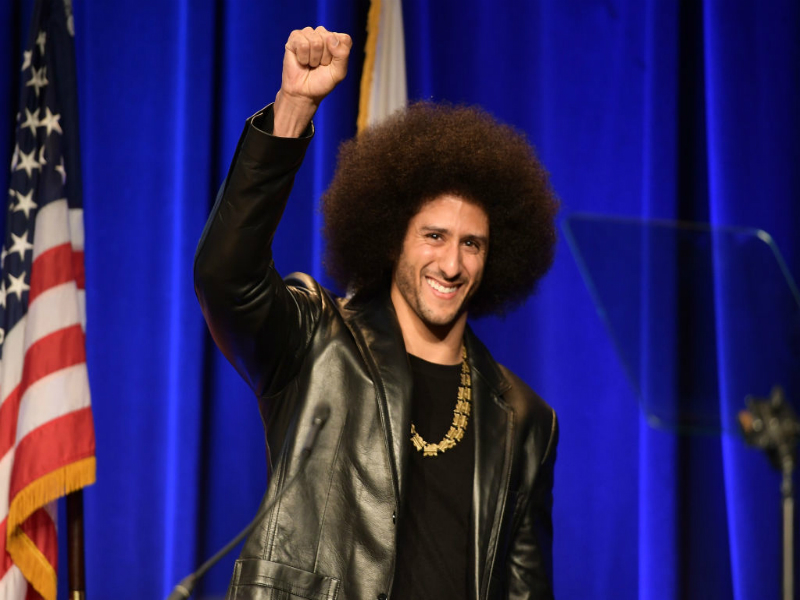 Colin Kaepernick up for TIME person of the year