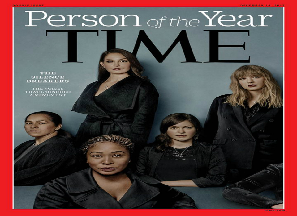 Time's Person of the Year 2017 is 'The Silence Breakers'