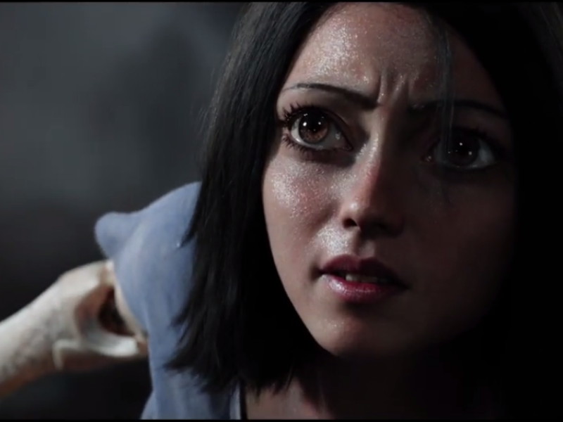 James Cameron and Robert Rodriguez's 'Alita: Battle Angel' Gets Creepy First Trailer
