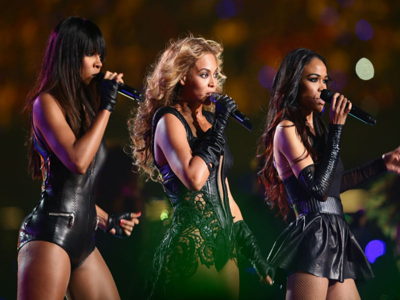 Is Beyoncé's AC/DC Shirt Hinting at a Destiny's Child Reunion?