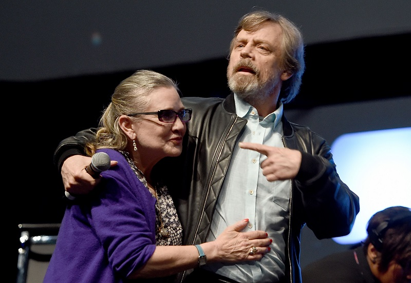Carrie Fisher makes memorable final appearance in