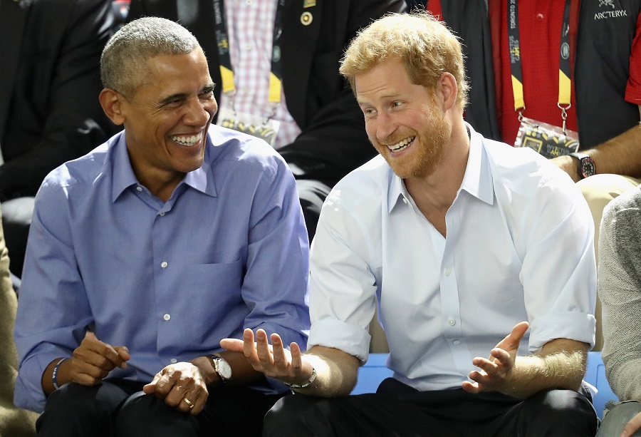 Barack Obama Jokes Around With Prince Harry, And The Internet Goes Crazy