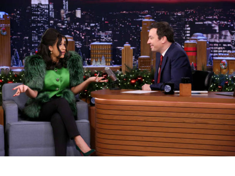 Jimmy Fallon Knows He's Not Worthy to Be in Cardi B's Presence