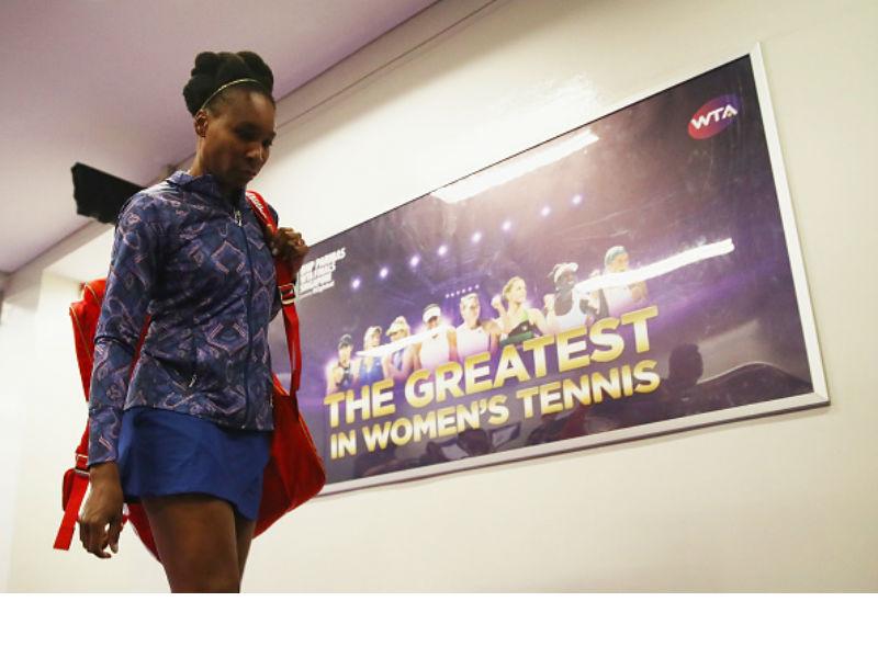 No fault found in Venus Williams crash