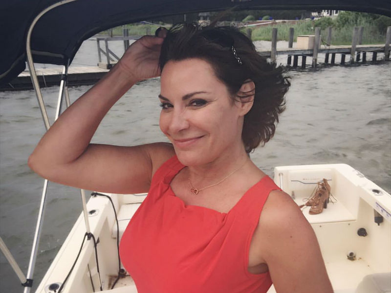 Luann de Lesseps goes on a drunken rampage