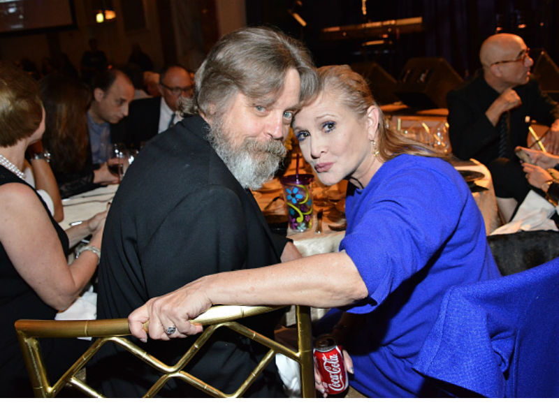 Carrie Fisher remembered a year after her death