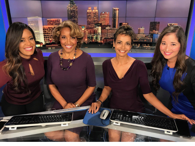 Longtime Atlanta news anchor Amanda Davis dies after suffering stroke