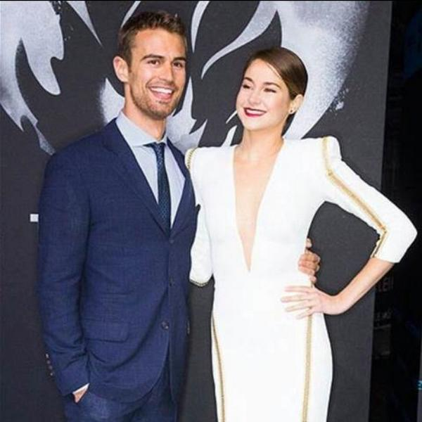 theo james shailene woodley dating rumors Theo james and shailene woodley are the talk of hollywood this weekend as divergent opened in theaters their natural chemistry is sparking dating rumors.